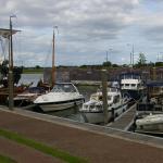 Uitzicht op de haven van Kampen