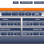 Screenshot van Cube settings voor het hele huis