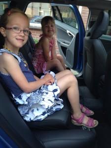 Kids op de achterbank