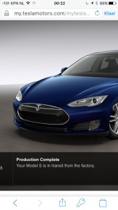 Tesla Model S production finished