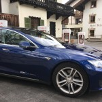 Tesla Supercharger Lermoos
