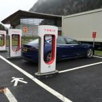 Tesla Supercharger Brennero