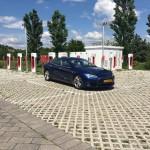 De enige Tesla bij Arezzo