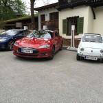 Tesla Supercharger Lermoos, Oostenrijk